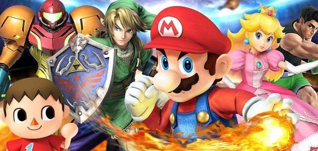 Tournoi Super Smash bros sur Nintendo Switch